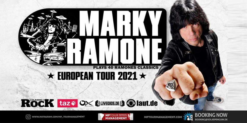 Wildfire Music UG   Konzert- und Tourneeveranstalter   Marky Ramone