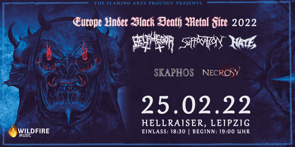 Suffocation + Belphegor | Hellraiser, Leipzig